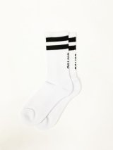 DUAL SOCKS (White/Black) [Mens/Womens] [1,600+TAX]