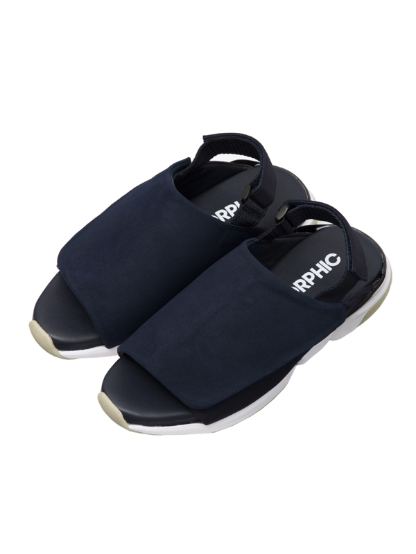 画像1: CG WRAP (Navy Suede : SHOP限定) Men's / Women's [22,000+TAX]