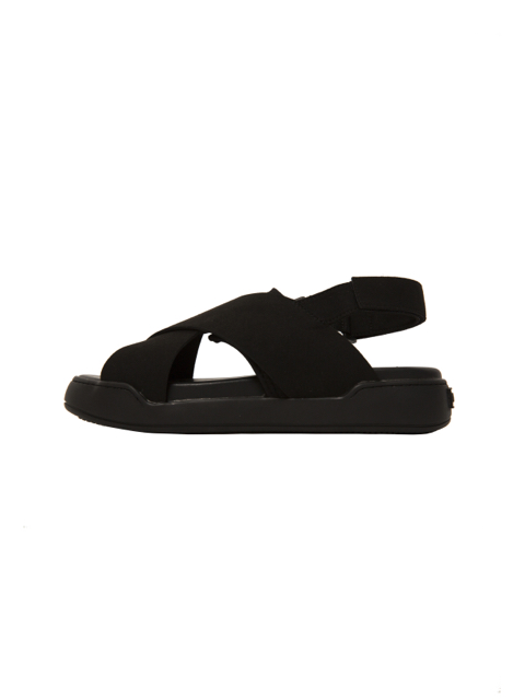 画像2: STACK SANDALS (Black Suede) [22,000+TAX]