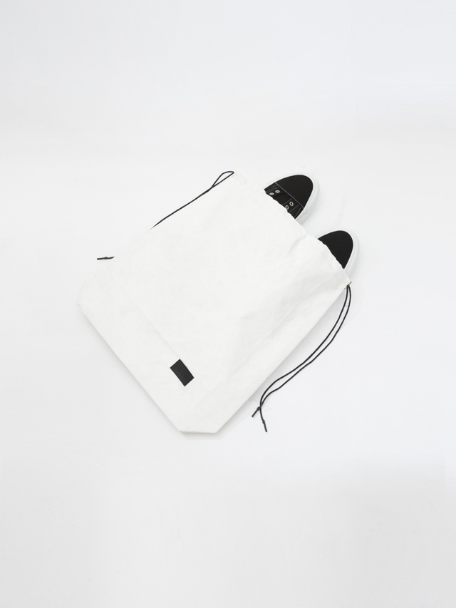 画像1: Tyvek®︎ SHOES BAG (White:オンライン限定) [4,200+TAX]