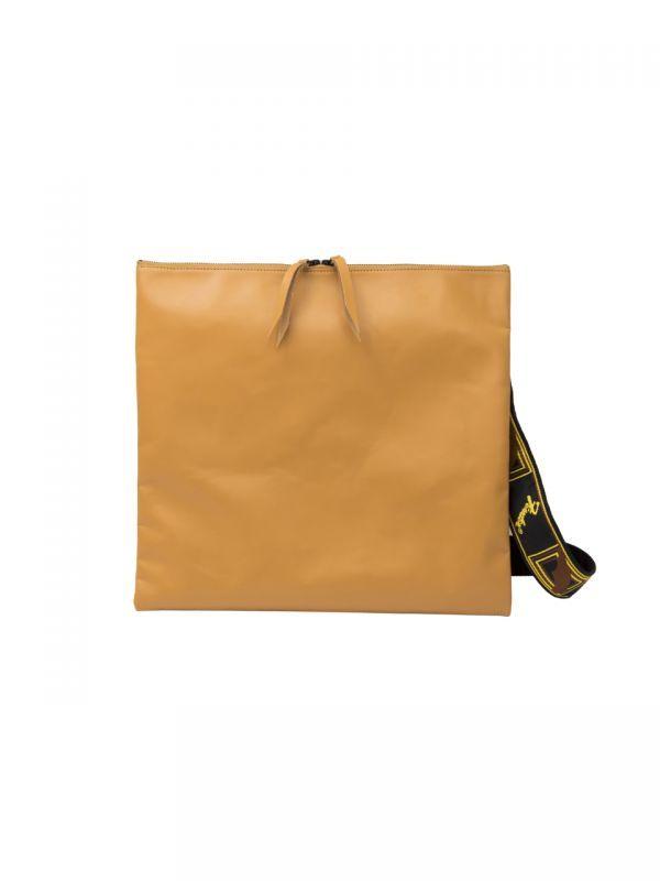 画像1: STRAP BAG (Tan) SIZE : 1 [36,000+TAX]