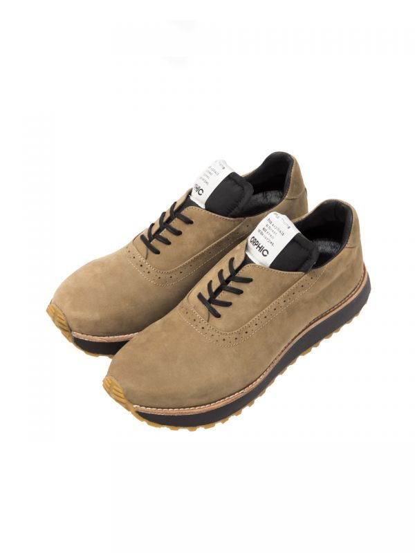 画像1: OFFICER TRAINER (MID BROWN) Last Sz. 8.0 [36,000+TAX]