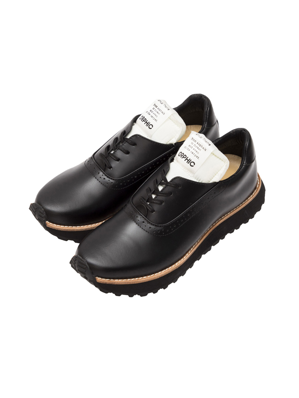 画像1: OFFICER TRAINER (BLACK / WHITE) [36,000+TAX]