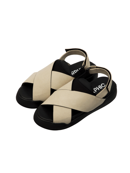画像1: STACK SANDALS (Light Beige) [22,000+TAX]
