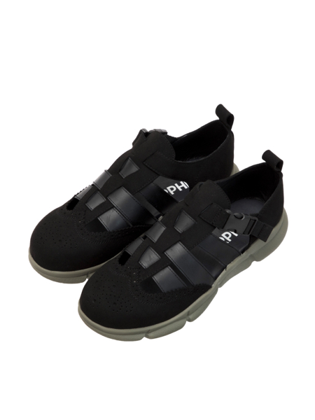 画像1: HELLION SANDALS (Black Mix) [29,000+TAX]