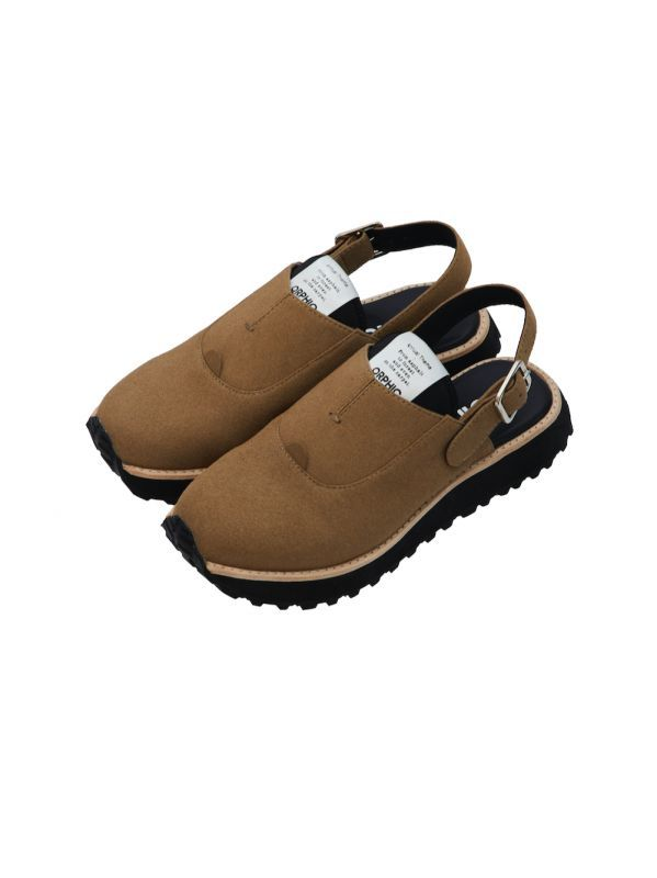 画像1: OFFICER SANDALS (GRAY.BROWN) [29,000+TAX]